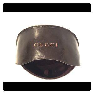 Authentic Gucci Sunglasses Case